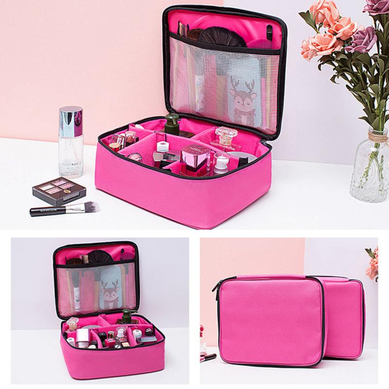 High Capacity Large Professional Toiletry Bag Cosmetics Makeup Brush Storage Box Waterproof Make Up Tools Case Beauty Kit