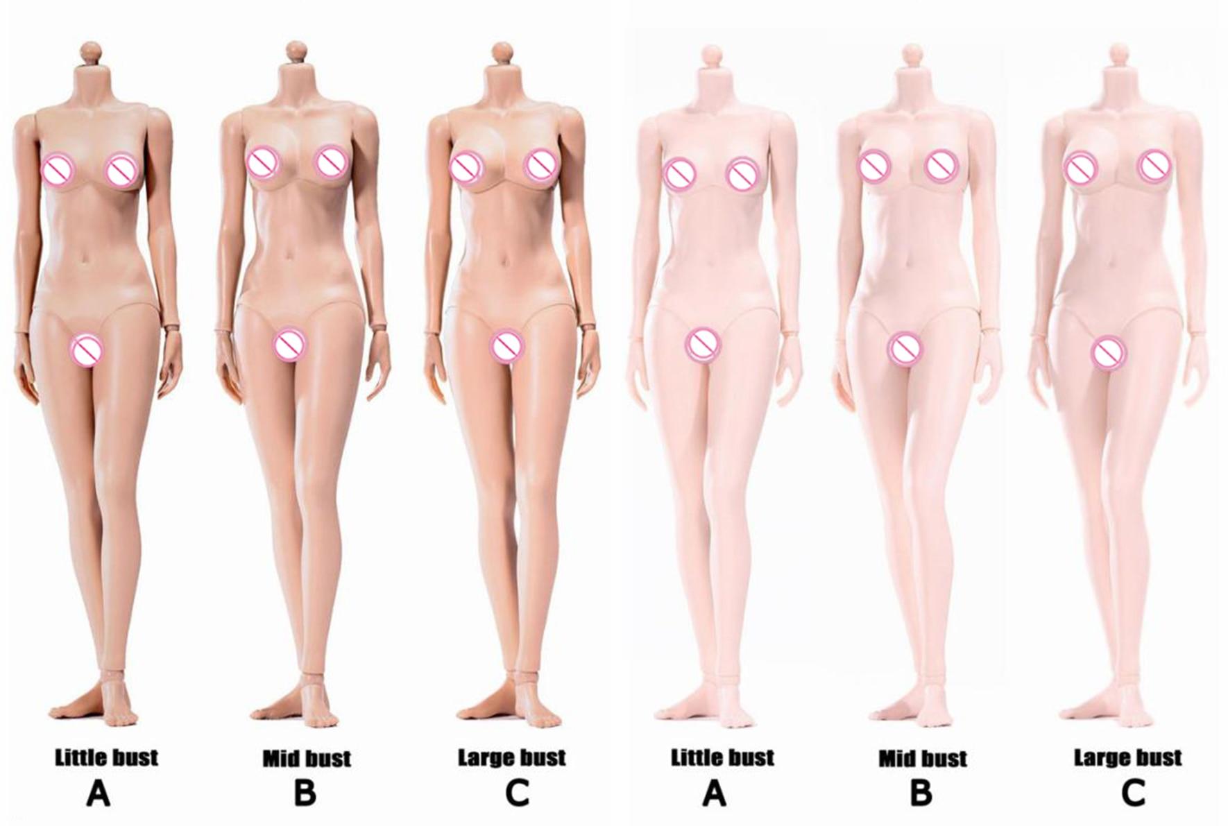 1//6 POPTOYS 92005C XING Series Female Figures Flexible Body Toys Dolls