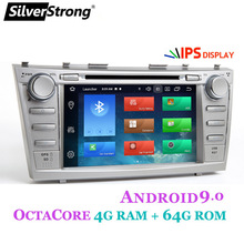 SilverStrong 2din Android9.0 4GB 64GB Car DVD per TOYOTA CAMRY Aurion AUTO DVD CAMRY v40 GPS AUTO RADIO DVD di Navigazione