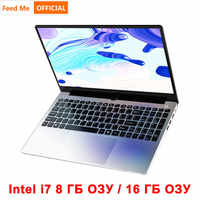 Coque en métal 15.6 pouces Intel i7 4500U ordinateur portable 8 GB/16 GB RAM 1080P IPS ordinateur portable Windows 10 double bande WiFi clavier complet
