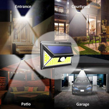 Lighting Security Lamp PIR Motion Wall Light Waterproof Garden Decoration Powered Sensor LED(China)