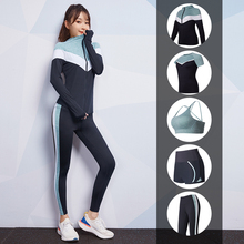Vansydical Gym Yoga Sets Women's Sports Suits Stretchy Running Sportswear Fitness Training Joggers Clothing 5-6pcs 2017 vansydical suits women sportswear female sports trousers fitness gym running sets quick dry gym clothes suit 6pcs