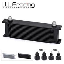 Enfriador de aceite de transmisión de motor Universal de aluminio tipo británico de 13 filas WLR RACING - 13 WLR7013