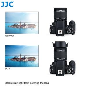 Image 5 - Lens Hood Canon EOS 90D 80D 70D 77D, canon EF S 18 55mm f/3.5 5.6 is STM, canon EF S 18 55mm f/4 5.6 is STM değiştirir EW 63C