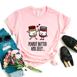 New Camiseta Tshirt Fashion Brand Top T-shirt Short Sleeve Punk Bff Sisters Cute T Shirt Harajuku Korean Summer Camisas Dropship