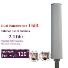 Антенна wi fi с двойной поляризацией 24 ГГц 14 дБи 120 градусов