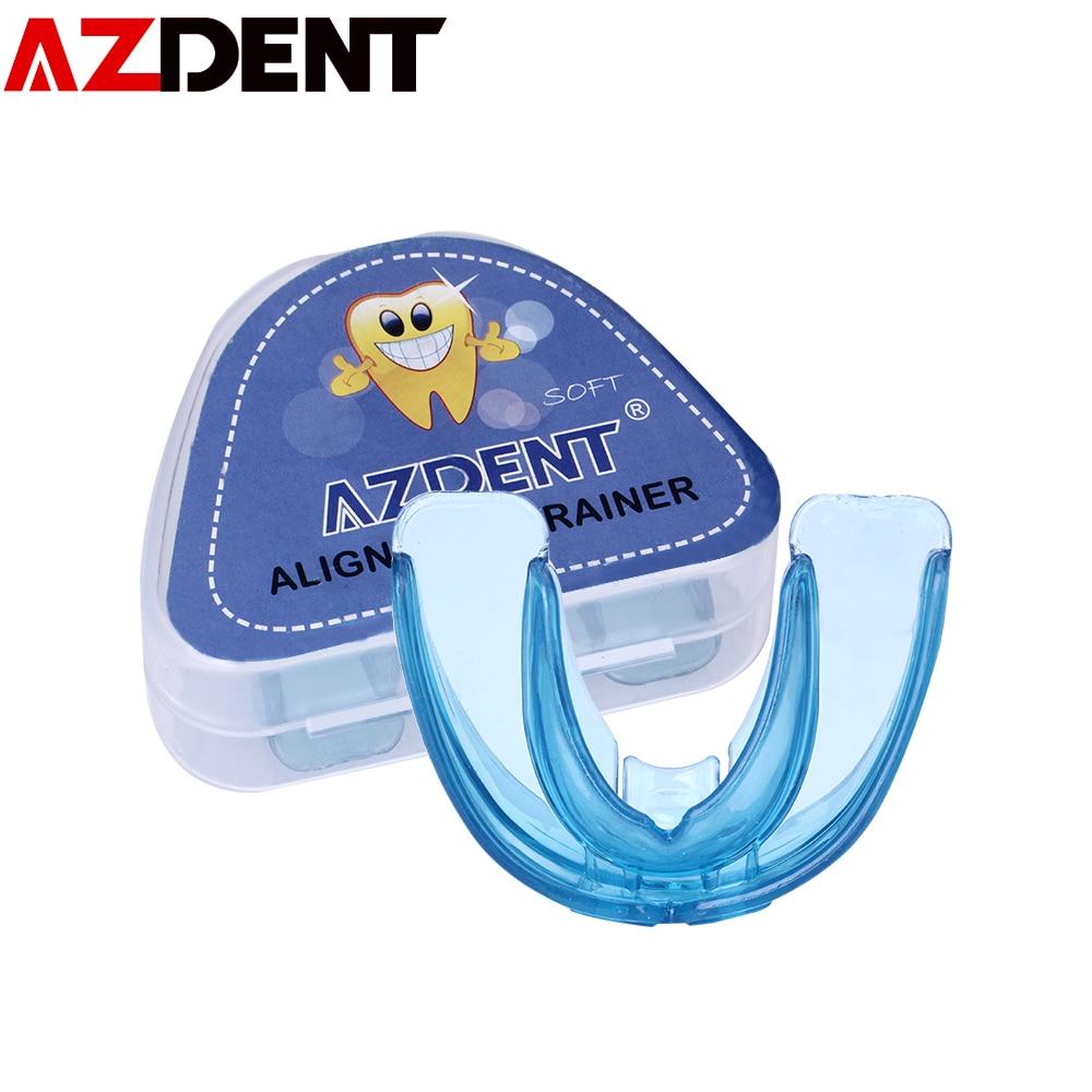 AZDENT 1 set Orthodontic Braces Dental Braces Dental Appliance Trainer Alignment Braces Mouthpiece for Teeth Straight Teeth Care