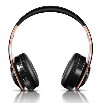 New arrival LED breathing lights wireless bluetooth headphone mobile headset support mobile computer tablet heavy bass 2