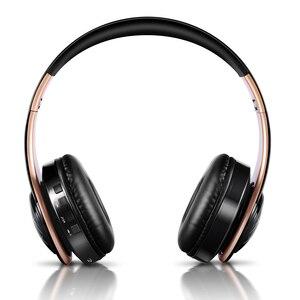 Image 2 - Yeni varış LED solunum işıkları kablosuz bluetooth kulaklık cep kulaklık desteği mobil bilgisayar tablet ağır bas
