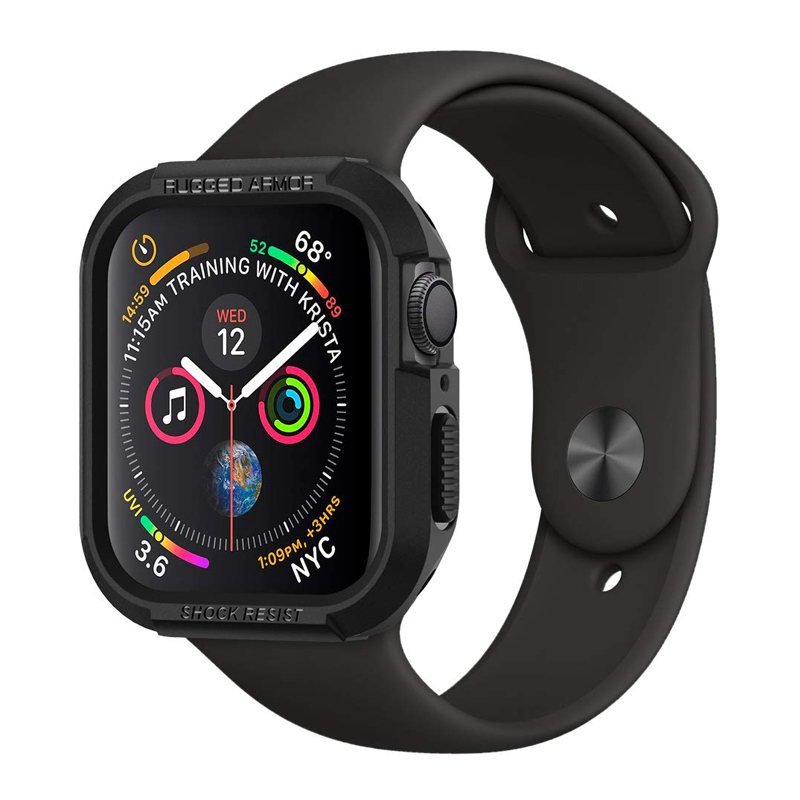 Rugged Armor Protective cover for <font><b>apple</b></font> <font><b>watch</b></font> 40mm <font><b>44mm</b></font> iwatch <font><b>apple</b></font> <font><b>watch</b></font> case <font><b>series</b></font> 4 <font><b>5</b></font> Tpu soft Shockproof Protector bumper image
