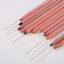 12Pcs/Set Soft Pastel Artist Pencils Crayon Charcoal 12 Colors Pencil for Sketching Wooden Drawing Supplies chungwa colorful wooden pencil set multicolored 36 pcs