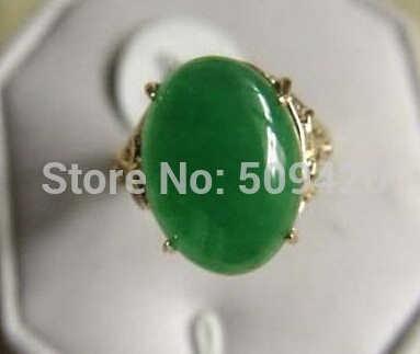 จัดส่งฟรีเครื่องประดับสีเขียวหยกแหวนผู้หญิง (ขนาด 7 #,8 #,9 #)