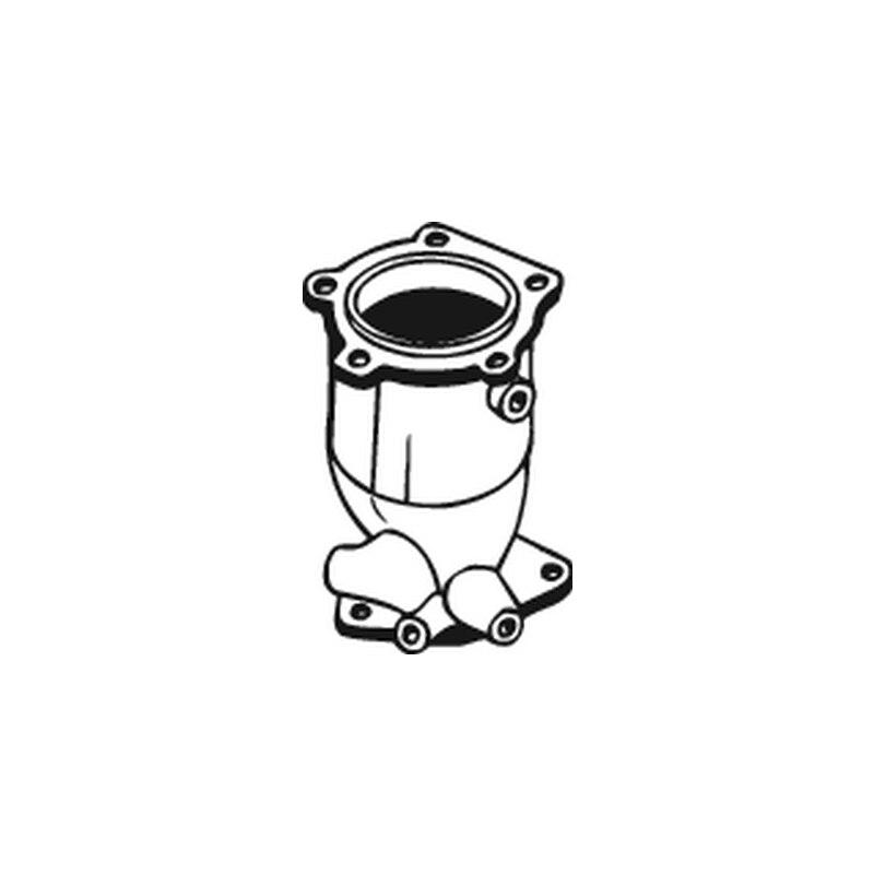 BOSAL 099-775 Catalyst for Nissan Almera II (N16) 1.5/1.8. 1200mm. 50805 какие светодиодные лампы лучше для автомобиля nissan almera n16