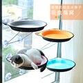Bonito Pet Camas de Suspensão Rolamento 15kg Gato Montar Janela Assento Ensolarado Assento Camas Pet Gato Confortável Rede Gato de Estimação Cama
