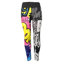 CINESSD 3D Print Pattern Yoga Pants Gym Leggings Sport Women Fitness Sexy Lift Hips Quick Dry Workout Train