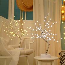 Светодиодная медная лампа светильник для дерева сенсорный переключатель