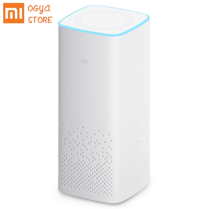 Xiaomi MI AI speaker wifi bluetooth voice remote control portable smart home light music player xiaoai app For Android Iphone image