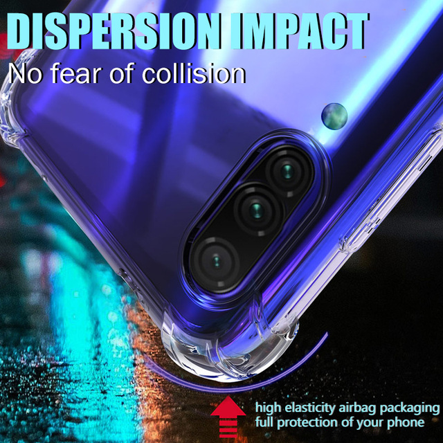 Clear Shockproof Case For Samsung Galaxy S21 S20 fe Plus Note 20 Ultra A21S A12 A31 A52 A72 A51 A71 A70 A50 S8 S9 S10 Plus Cover 3