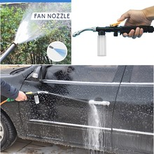 High Pressure Water Gun Garden Water Jet Pressure Washer Metal Water Gun High Pressure Power Car Washer Spray Car Washing Tools tanie tanio ISHOWTIENDA Lances Washer Nozzle Zmienna kontroli przepływu STAINLESS STEEL new arrive hot sale drop shipping high quality