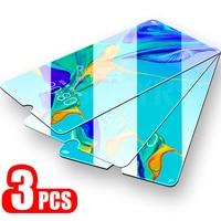 Protector de pantalla de cristal templado para huawei p30 lite, película protectora para huawei p20 pro p9 lite mini p10 plus p 20 30, 3 uds.