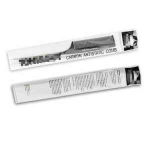 Image 5 - 1 шт. Многофункциональный Профессиональный расческа для крикета из углеродного волокна Антистатическая расческа для резки Антистатическая Парикмахерская щетка для стрижки инструмент