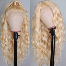 Dorosy 613 Deep Part Lace Front Wigs Blonde Body Wave Synthe
