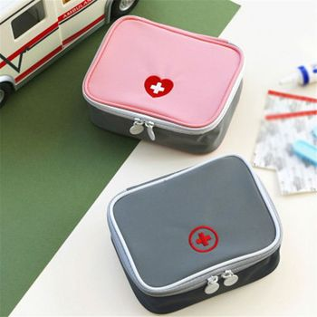 Outdoor First Aid Kit Bag Mini Medicine Storage Portable Household Medical Emergency Organizer Pouch Survival Travel Accessories 1pc portable outdoor mini travel first aid kit medicine bag home small medical box emergency survival pill case storage bag