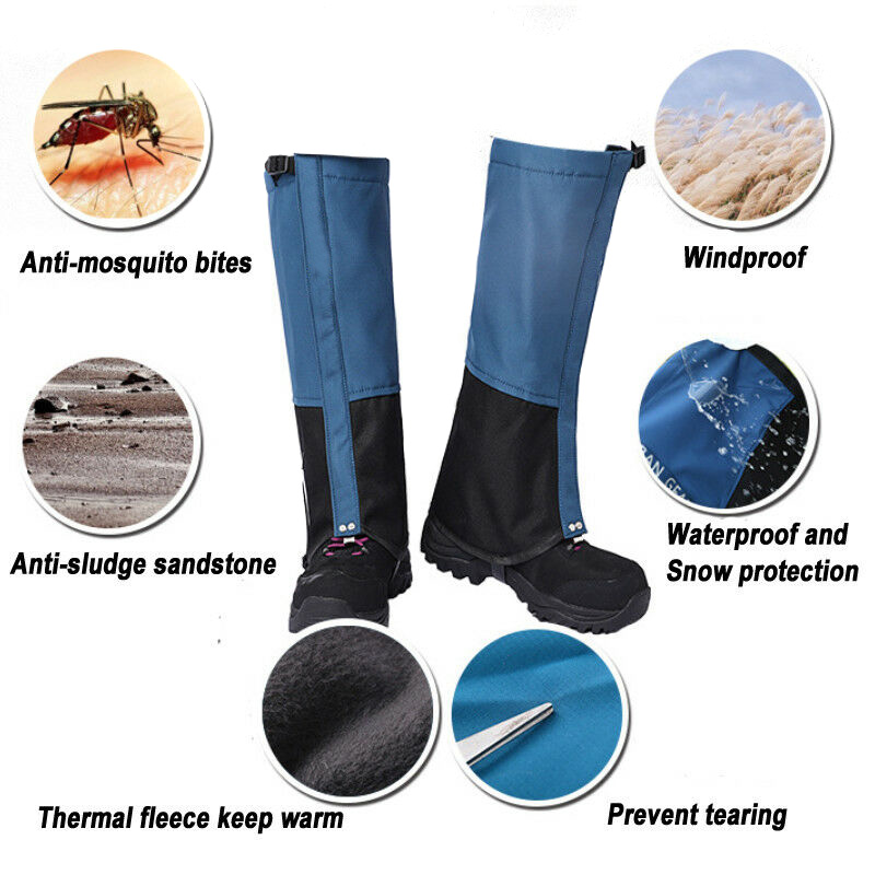 Sand Proof Waterproof Boots Cover Legging Gaiters for Hiking Hunting Snow Outdoor EDF88|Hiking Shoes|   - title=