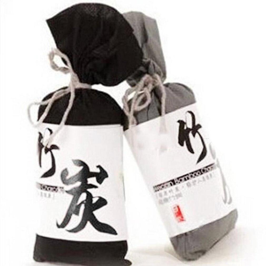 Бамбуковый уголь мешок освежитель воздуха для автомобиля ящик для очистки воздуха дезодорант мешок 100 г активированный уголь бамбуковый уг...