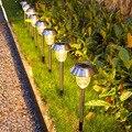 Садовый светильник s Солнечный светодиодный светильник лужайки солнечной лампы наружного света Водонепроницаемый уличный светильник двор...