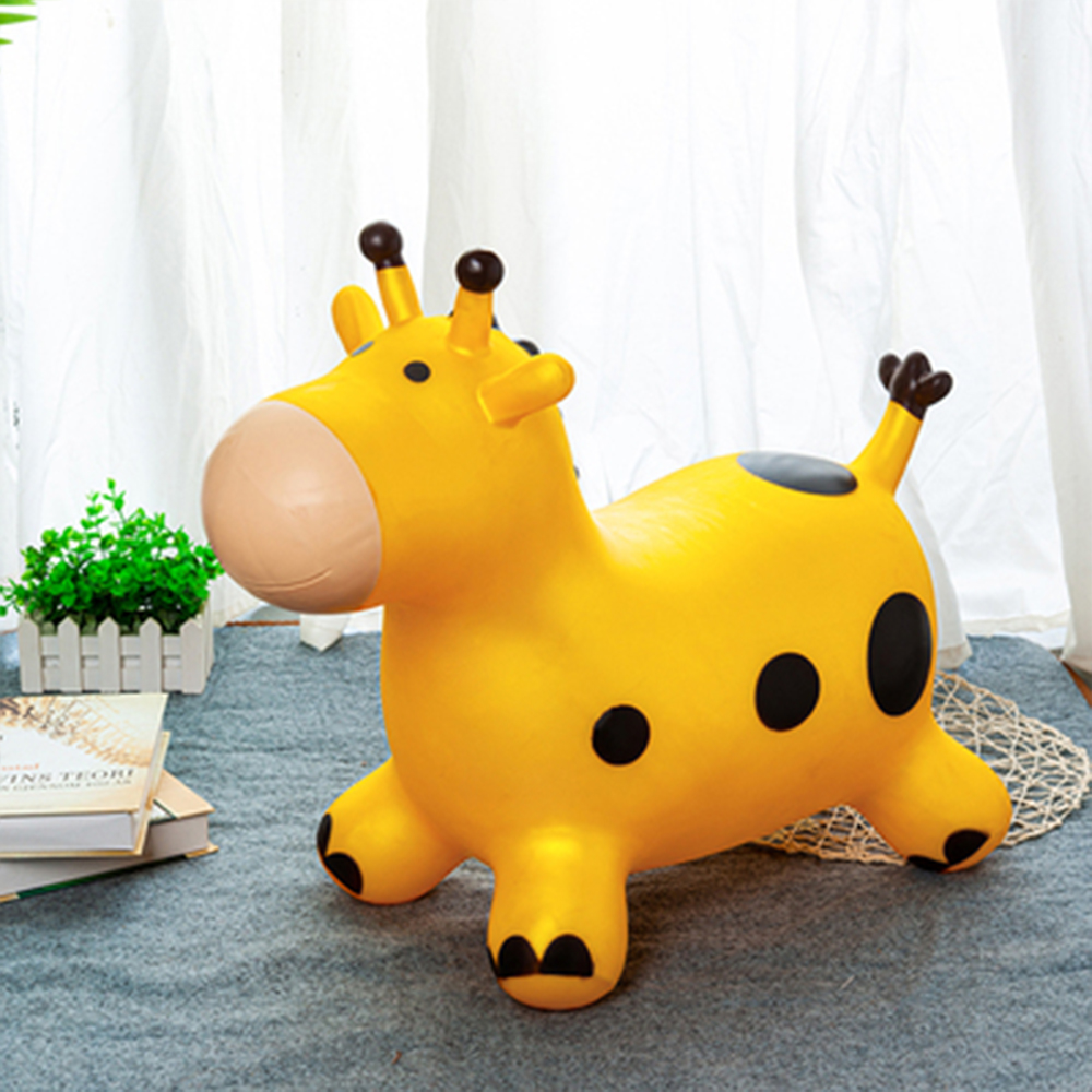 toys jump horse inflatable horse Bouncy Inflatable Hopping Jumping Animal Toys- Gift for Toddlers inflatable horse