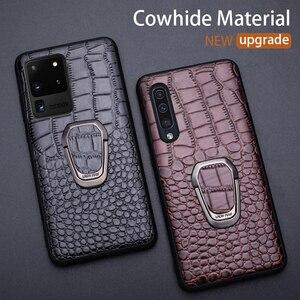 Image 1 - Кожаный чехол для телефона Samsung Galaxy S20 Ultra S10 S10e S8 S9 S7 edge Note 8 9 10 20 Plus A10 A20 A30 A40 A50 A70 A51 A71
