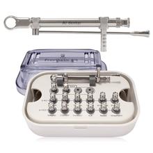 Kit de prothèse dentaire universel, clé dynamométrique, cliquet avec pilotes et tournevis, équipement de forage dentaire