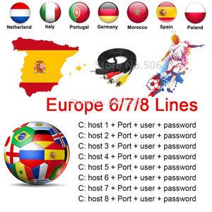 6/7/8 Europe Cline Europe CCCAM Poland 4k free Oscam Cline Germany fast stable server Spain portugal Sweden Hot Receptor Support