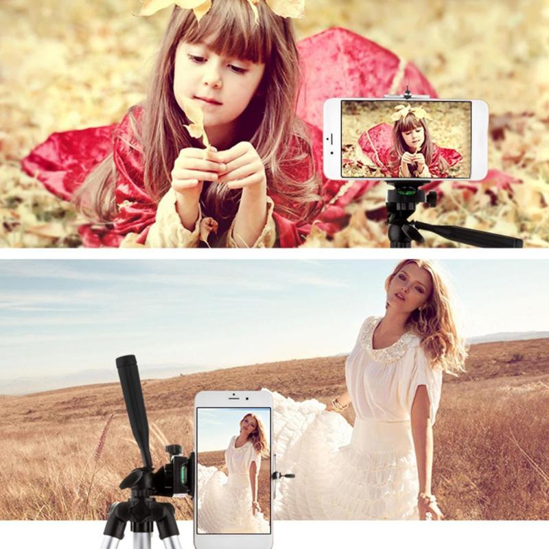 Foldable-Digital-Camera-Smartphone-Tripod-Holder-Stand-Professional-1-4-Screw-360-Degree-Fluid-Head-Tripod (1)
