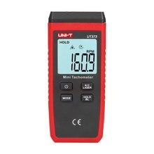 UNI-T ut373 mini tacômetro do laser de digitas tacômetro do não-contato faixa de medição: 10-99999rpm tacômetro odômetro km/h retroiluminação