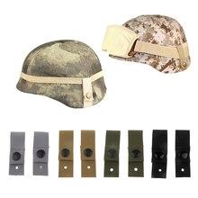 2 шт. Охотничьи кепки отличный набор постельного белья для M88 боевой шлем универсальные очки шлейки крепежных ремней лучезапястного сустава