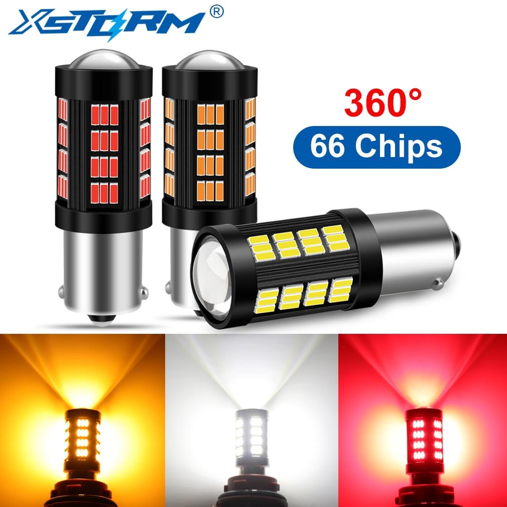 1Pc 1156 BA15S BAU15S 1157 BAY15D LED P21W P21/5W PY21W Led Bulbs R5W R10W  1000LM  Car Turn Signal Lights Backup Lamp DRL 12V
