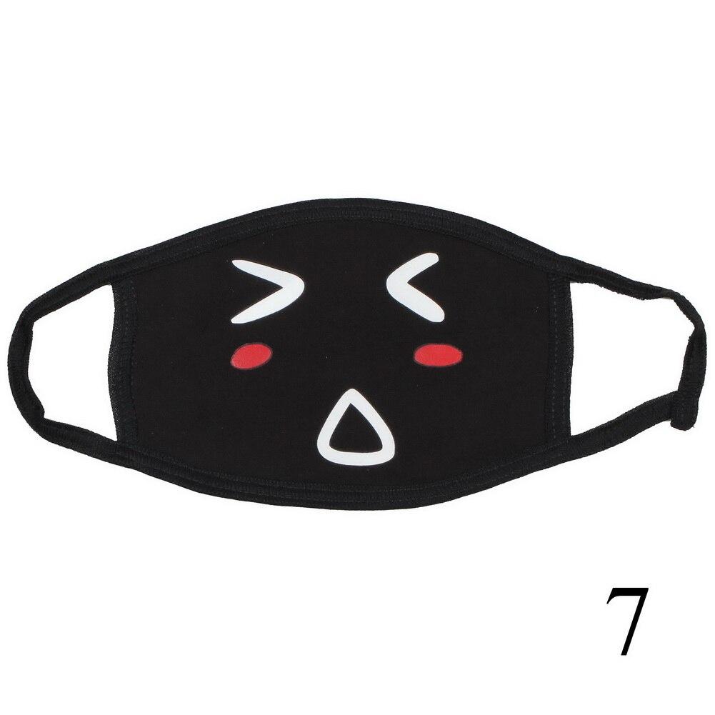 dos desenhos animados máscara facial dustproof máscara boca pode escolher cores