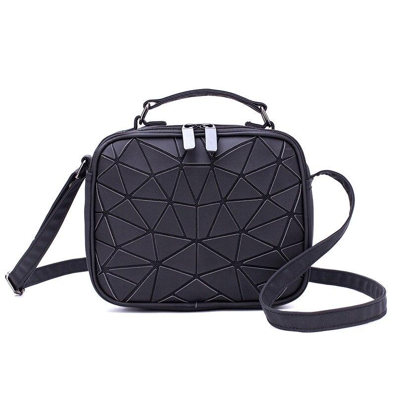 Luminous Geometric Ladies Small Square Shoulder Bag 5
