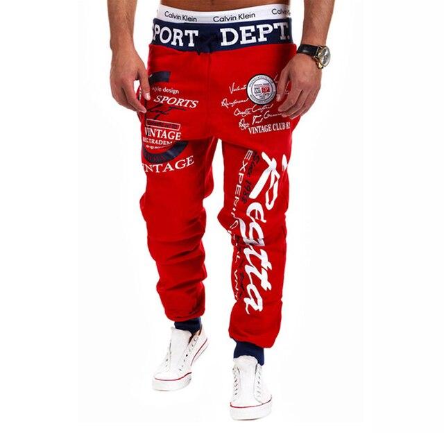 SWAGWHAT Men Pants Hip Hop Joggers Pants 2019 New Male Trousers Men Letters Printed Casual Pants Sweatpants Man Dancing wear 6