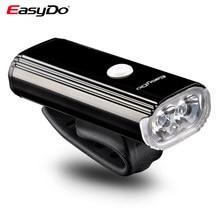 Easydo bicicleta luz ciclismo frente 4400mah 1000 lúmen usb recarregável xpg 10w farol 8 modos de iluminação EL-1110