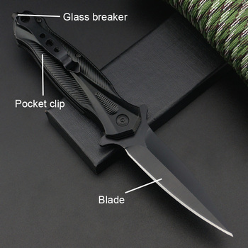 Multifunction Tools Stainless Steel Folding Work Knife With Wrench Portable Survival Knives For Outdoor Camping Hiking Fishing 2