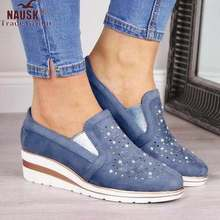 Autumn Women Flat Bling Sneakers Casual Vulcanized