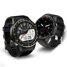 GPS Smart Watch F1 พร้อมกล้องซิมการ์ด Heart Rate การตรวจสอบความสูงความดันกีฬากลางแจ้งนาฬิกาสำหรับโทรศัพท์
