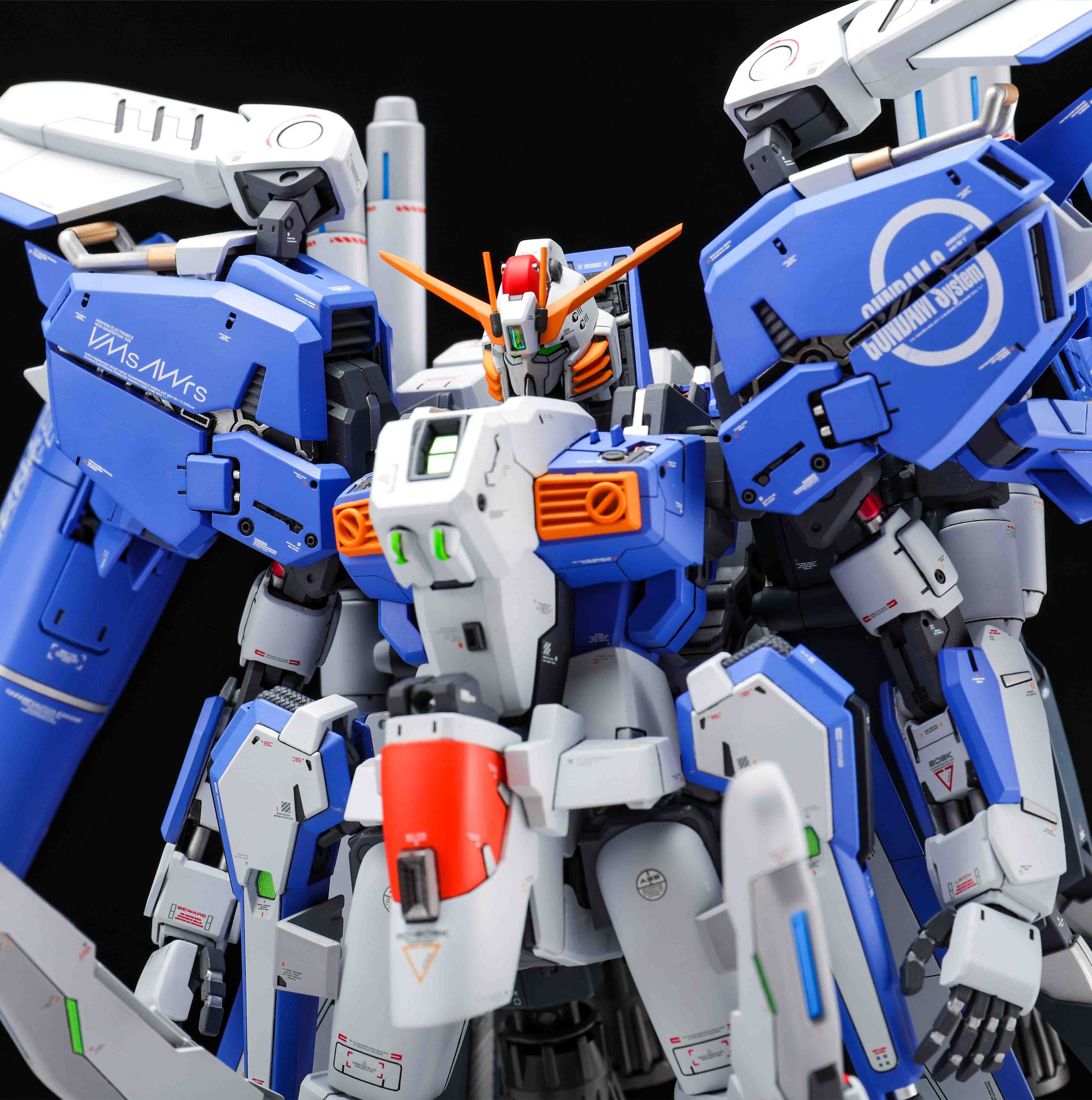 Image 4 - COMIC CLUB Pre sale Refitting Suite of GK resin for Gundam MG 1/100 EX S EXS 1.5 Ver. assembly action toy figuresAction & Toy Figures   -