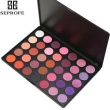 2017 Professional 35 Color Eyeshadow Palette Shimmer Matte Beauty Make up Pallete Set Smoky Eye shadow Makeup Kit P2# стоимость