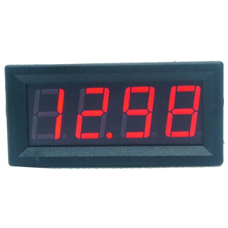 Mini Digital LED Display 4 Bits 0-100V Voltmeter Panel Volt Voltage Meter Tester