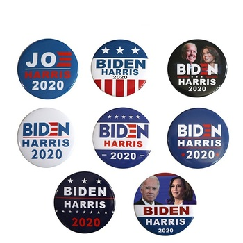 Biden Harris Badges President 2020 Election Democratic Series Badge Accessories Creative Bernie 2020 Supporters Brooch Gifts image