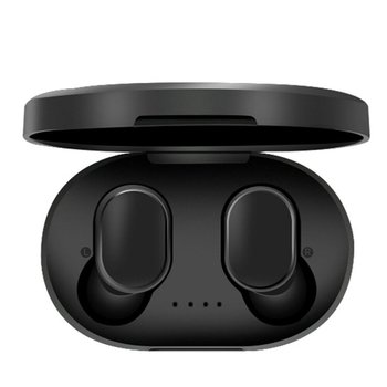 A6S Bluetooth Headsets For Redmi Airdots Wireless Earbuds 5.0 TWS Earphone Noise Cancelling Mic for Xiaomi iPhone Huawei Samsung baseus s01 bluetooth earphone wireless headsets for iphone samsung xiaomi magnetic switch earbuds auricular bluetooth earpieces
